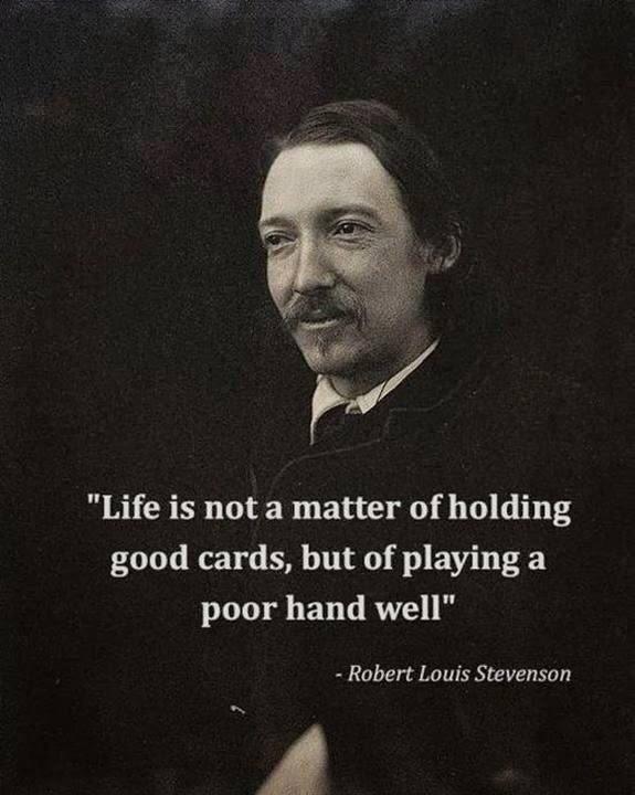 Weekend wisdom.