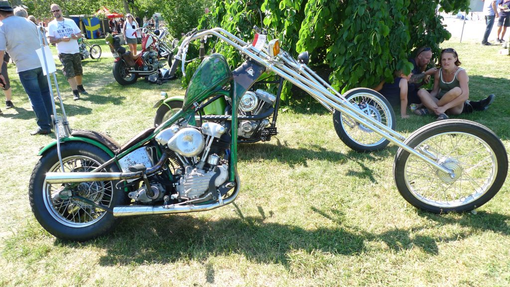 Cool bike from RAMS MC